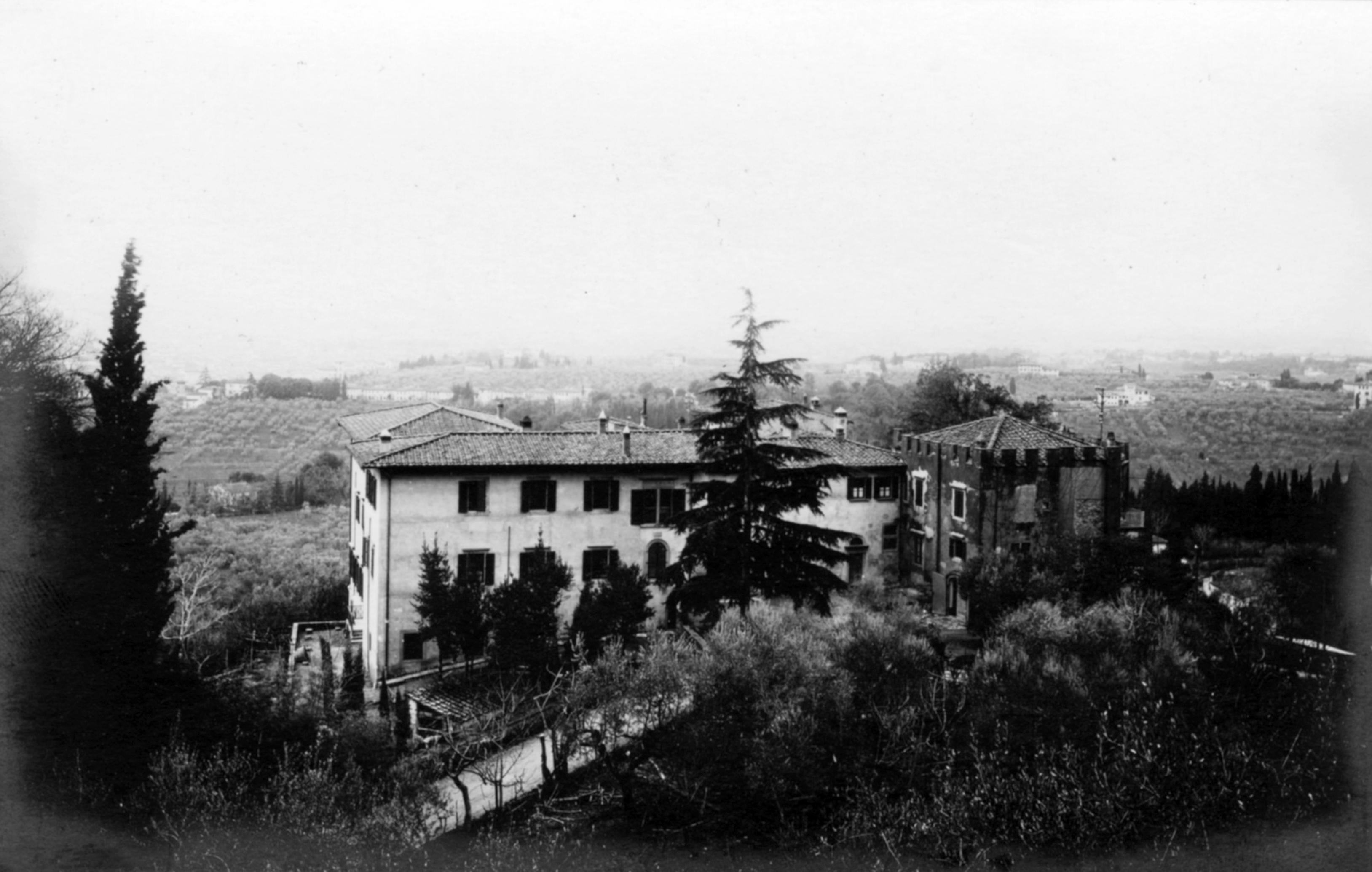 Pensione Bencistà archivio storico, Fiesole e Firenze. Seconda guerra mondiale