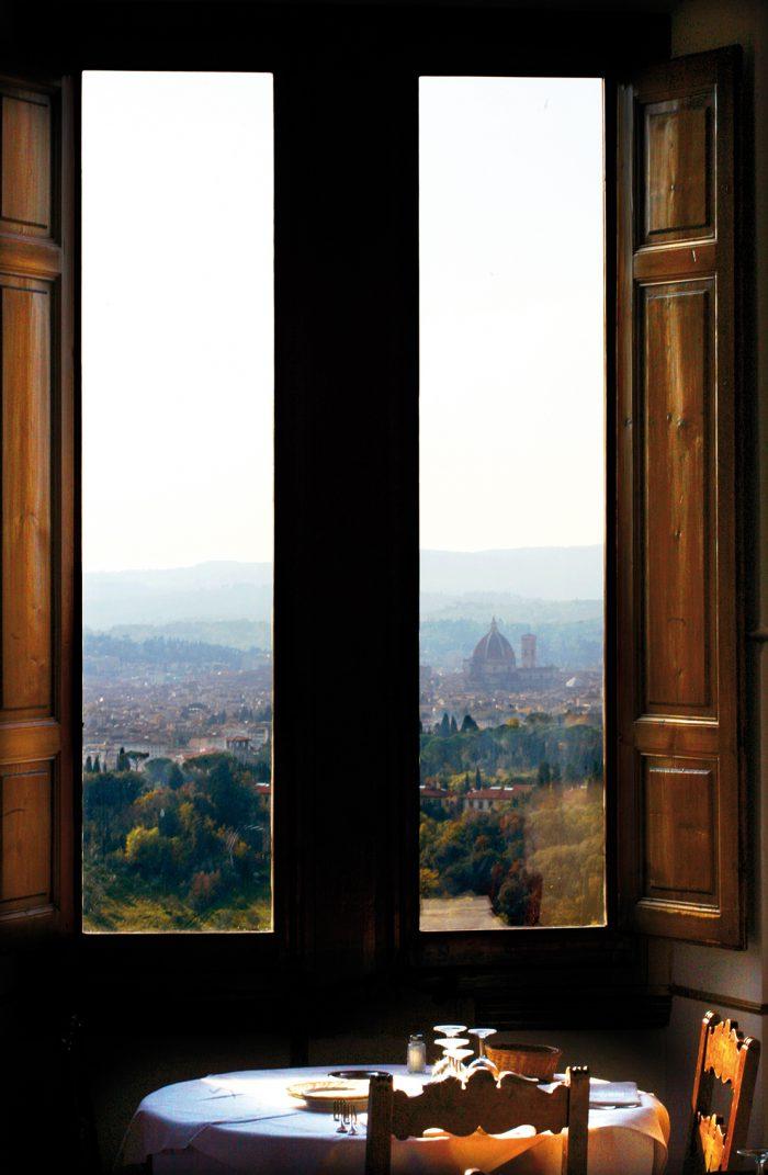 Ristorante Pensione Bencistà, Panorama Firenze e Fiesole