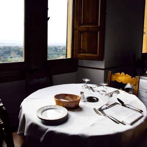 Ristorante Pensione Bencistà, belvedere Firenze, collina di Fiesole